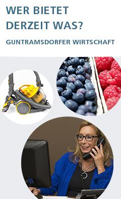 Guntramsdorfer Unternehmensliste mit kontaktlosem Angebot